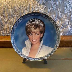 EUC | Franklin Mint A Tribute Princess Diana Plate
